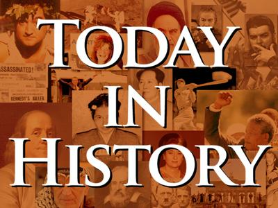 Today in History for July 22nd