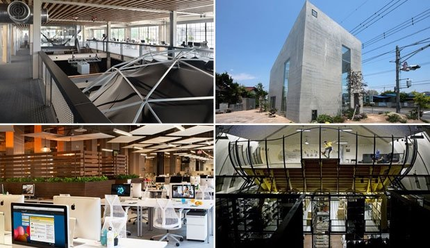 The World's Coolest Offices (and Runners Up)