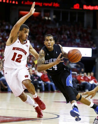 Wisconsin rolls past Presbyterian for 88-43 win