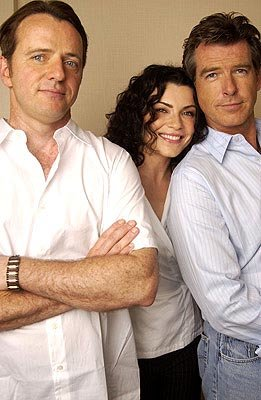 Aidan Quinn, Julianna Margulies and Pierce Brosnan Evelyn Toronto Film Festival - 9/9/2002