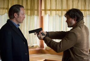 Mads Mikkelsen and Hugh Dancy, <i>Hannibal</i> | Photo Credits: Brooke Palmer/NBC