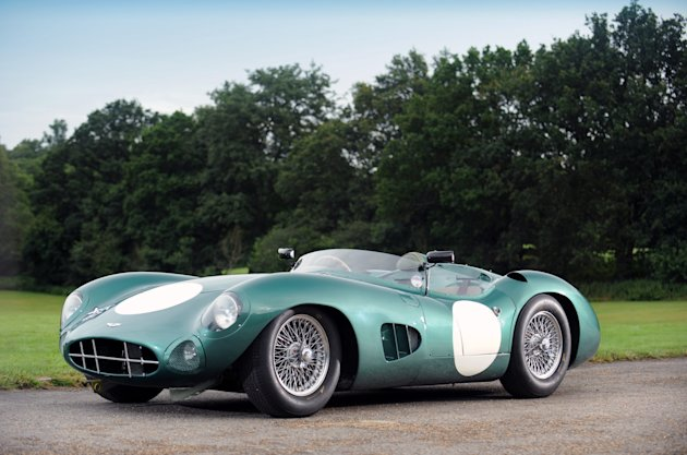 Simply stunning: This Aston Martin is regarded as one of the finest cars of all time Picture: SWNS