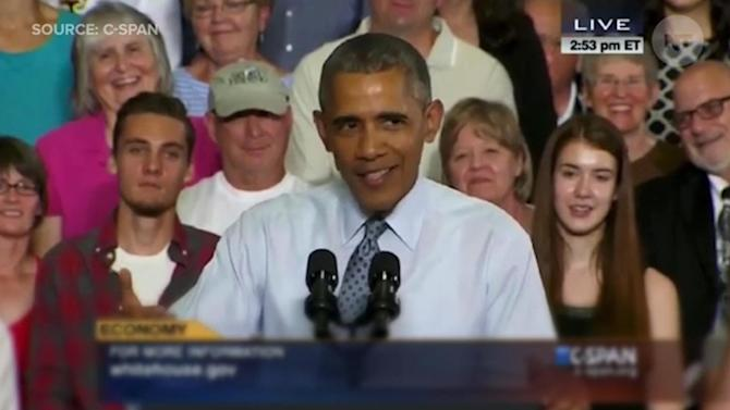 Obama Compares GOP Candidates To Crazy Uncle Harry At Thanksgiving