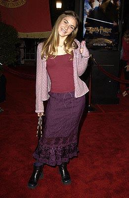 Premiere: Caitlin Wachs at the Hollywood premiere of Warner Brothers' Harry Potter and The Chamber of Secrets - 11/14/2002