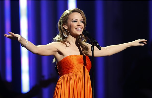 Singer Minogue performs at …