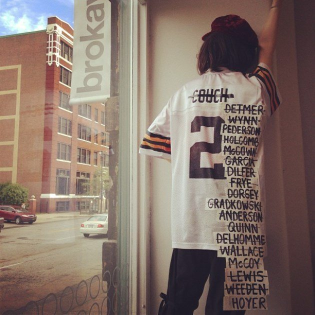 The Cleveland Browns From 1999 To Present Summed Up In