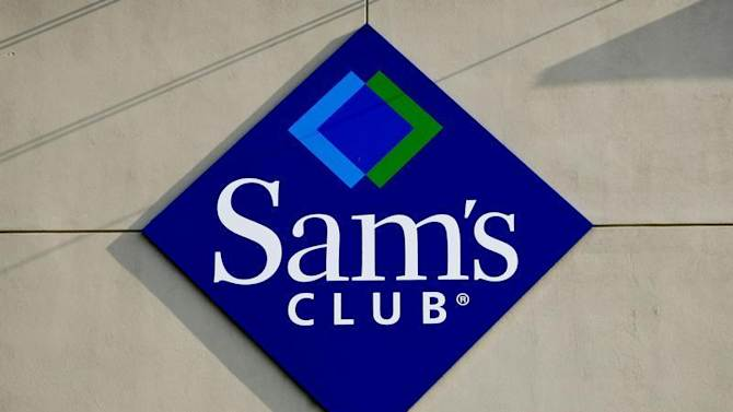 The Sam's Club logo is seen at a store in Bentonville, Arkansas