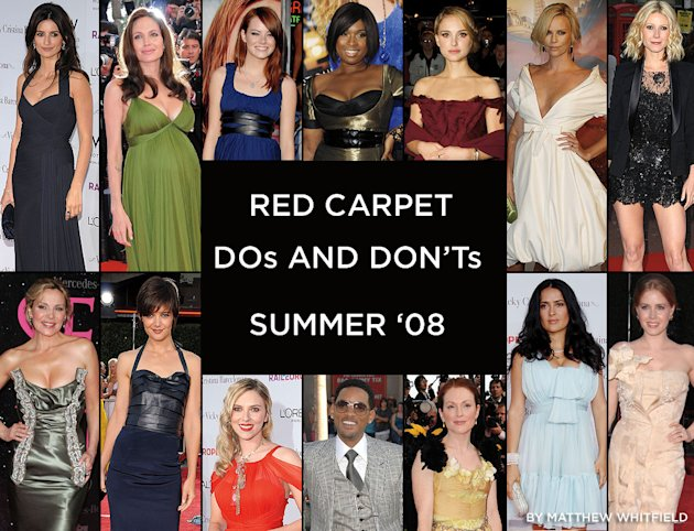 Red Carpet summer dos and donts title card