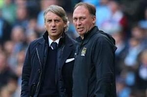 Mancini assistant Platt leaves Manchester City