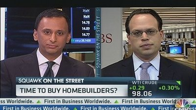 Time to Buy Home Builders?