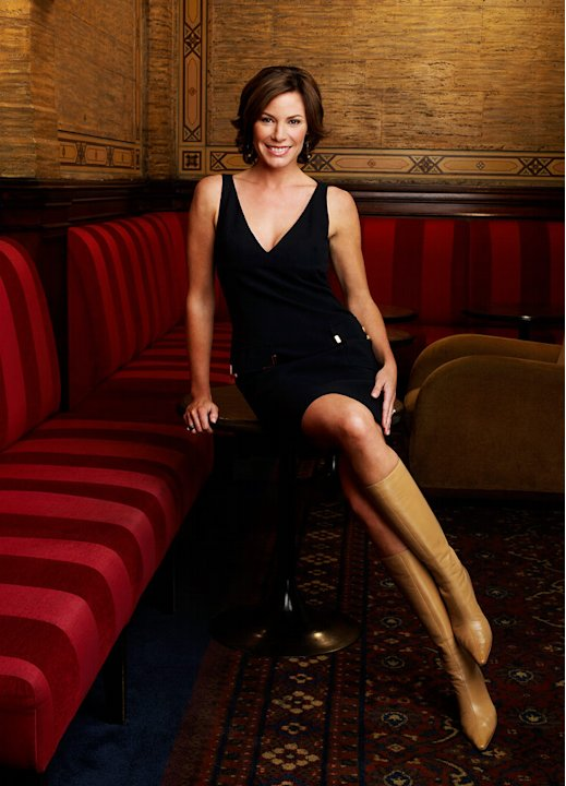 Luann De Lesseps of The Real Housewives of New York City.
