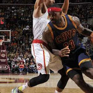 Move of the Night: LeBron James