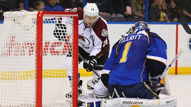 Colorado Avalanche v St. Louis Blues