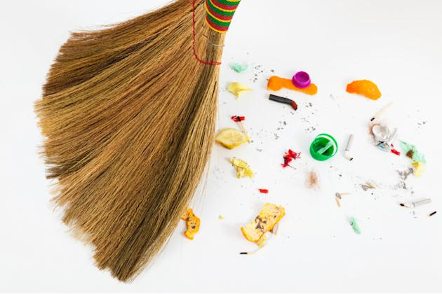Sweep the bad stuff away