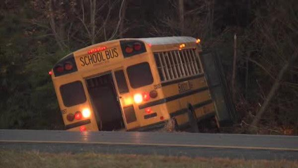 School bus involved in GSP crash failed inspection (PHOTOS)