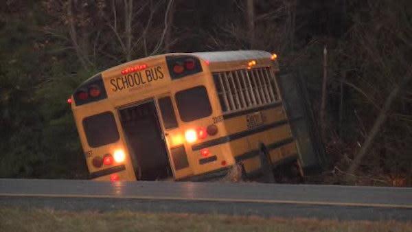 School bus involved in GSP crash failed inspection (PHOTOS)