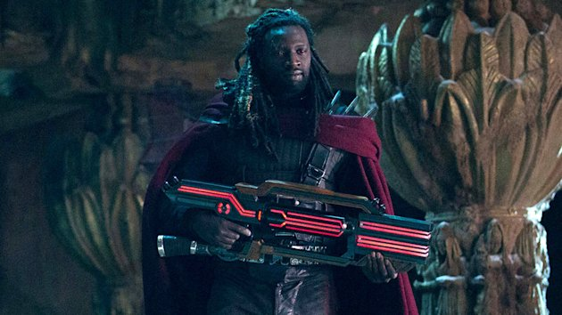 Omar Sy as Bishop in 'X-Men: Days of Future Past' (Photo: 20th Century Fox)