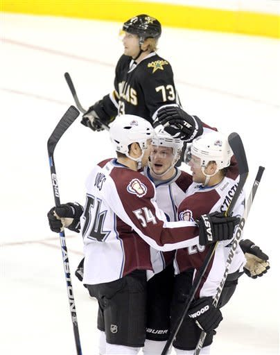 Stastny leads Avalanche past Stars