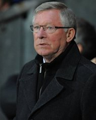 Manchester United manager Sir Alex Ferguson at the Premier League match against Blackburn Rovers on April 2. He has warned his players to be wary of teams battling to avoid relegation as they prepare to face struggling QPR on Sunday
