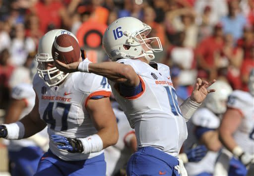 No. 24 Boise State beats New Mexico 32-29