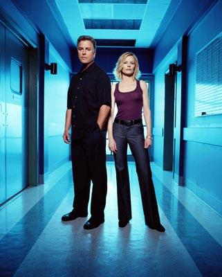 "William Petersen and Marg Helgenberger CBS' ""CSI: Crime Scene Investigation"" <a href=""/baselineshow/4663366"">CSI: Crime Scene Investigation</a>"