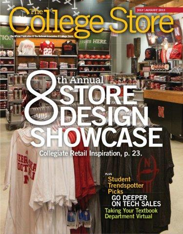 College Store Design Featured on Cover of The College Store Magazine Two Consecutive Years