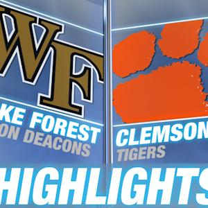 Wake Forest vs Clemson | 2014-15 ACC Men's Basketball Highlights