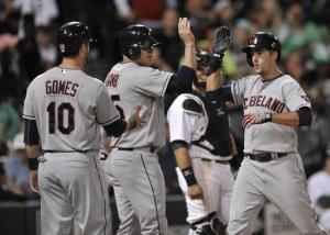 Jimenez leads Indians past White Sox, 8-1