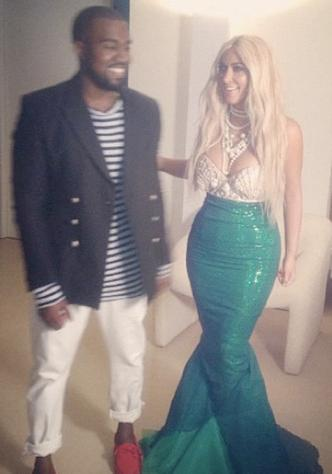 See Kim Kardashian's Halloween 2012 Costume: The Mermaid from Splash!