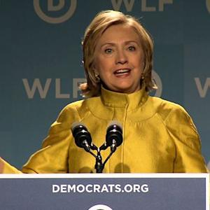 "Hillary Clinton urges women to turn out for ""crucial"" 2014 midterms"