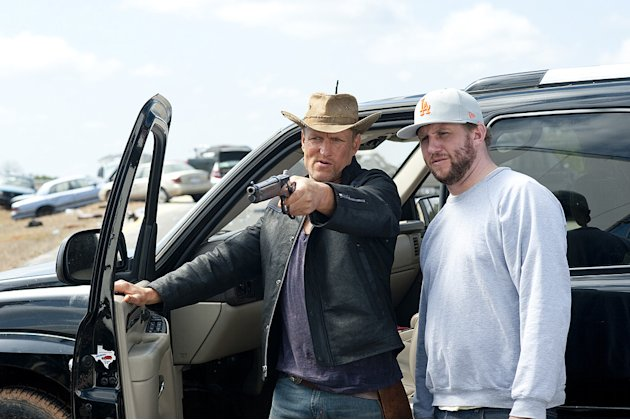 Zombieland Columbia Pictures Production Photos 2009 Woody Harrelson Ruben Fleischer
