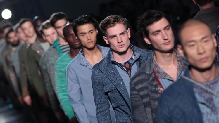 Missoni: Runway - Milan Fashion Week Menswear Spring/Summer 2013