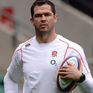 Andy Farrell was encouraged by England's display against South Africa