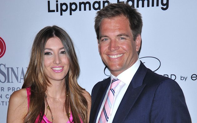 Michael Weatherly (DiNozzo de NCIS) papa