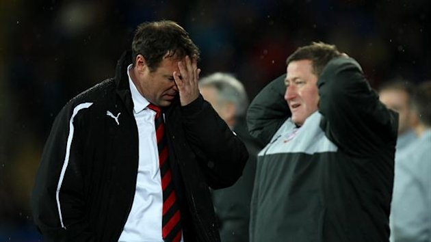 Cardiff boss Malky Mackay felt his side were not 'clinical' in front of goal
