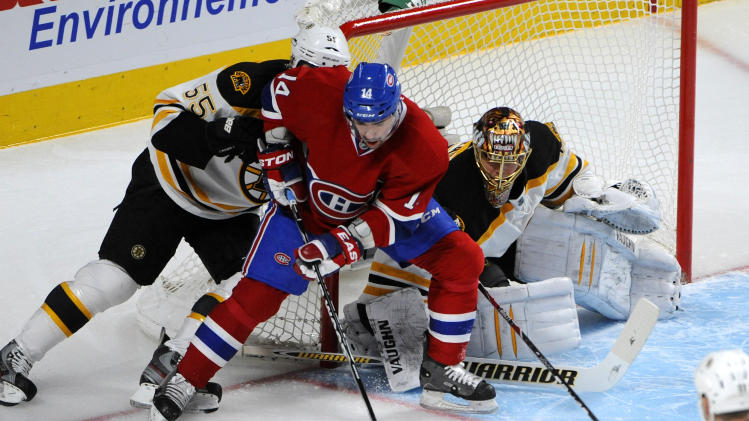 NHL: Boston Bruins at Montreal Canadiens