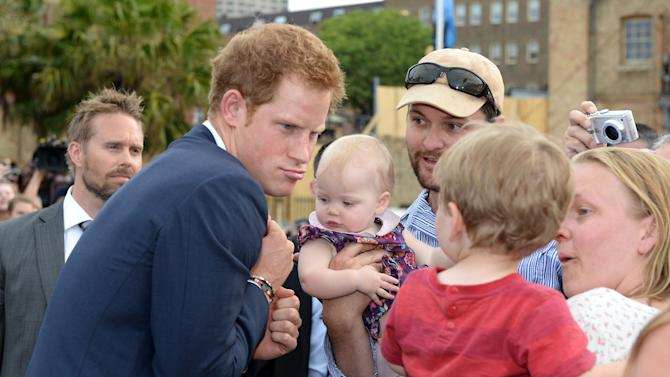 Prince Harry Attends The 2013 International Fleet Review