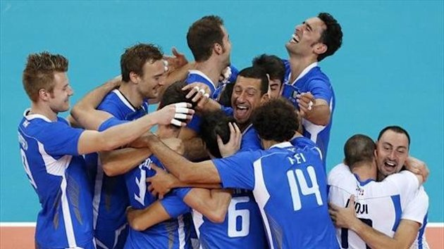 Italy vs Bulgaria - Bronze medal match - London 2012 (AFP)