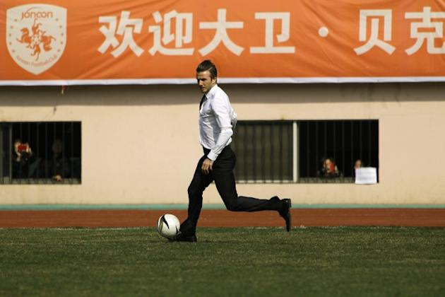 David Bechkham in China