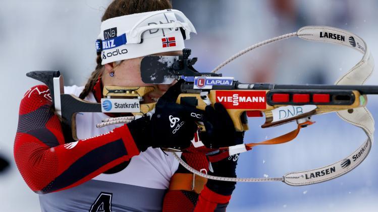 FIS World Cup - Biathlon - Women's Pursuit