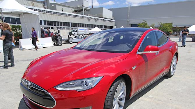 Tesla Model S: First drive