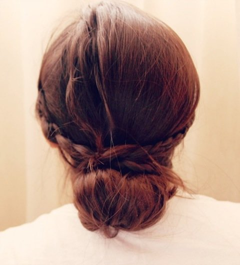 DIY Braided Bun