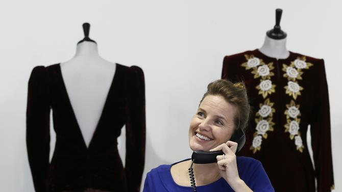 Iconic Princess Diana dresses fetch $1.2M in UK