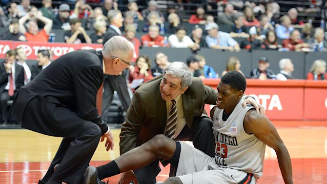 NCAA Basketball: UNLV at San Diego State