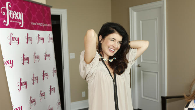 IMAGE DISTRIBUTED FOR BASK IT STYLE - Gabrielle Miller attends the Bask It Style media day on Wednesday Sept. 5, 2012, in Toronto, Canada. (Photo by Todd Williamson/Invision for Bask-It-Style/AP Images)