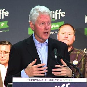 Bill Clinton boosts Terry McAuliffe for Va. Gov.