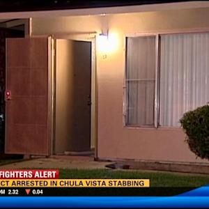 Suspect arrested in Chula Vista stabbing