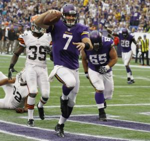 Ponder will start for Vikings against Packers