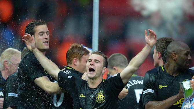 Wigan Athletic's English striker Callum McManaman has joined West Bromwich Albion