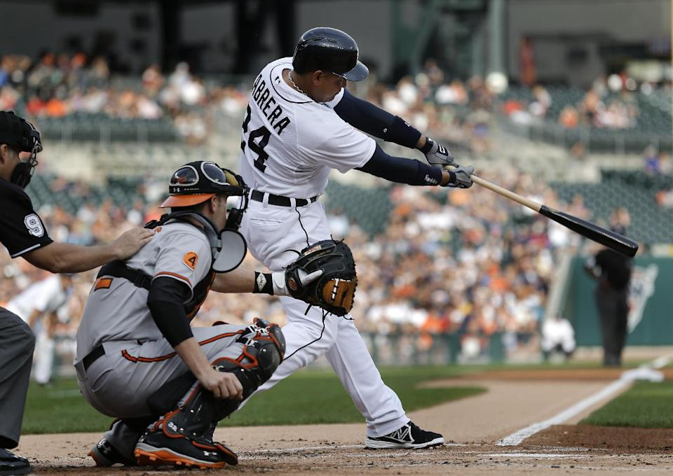 Scherzer improves to 10-0, Tigers top Orioles 5-1